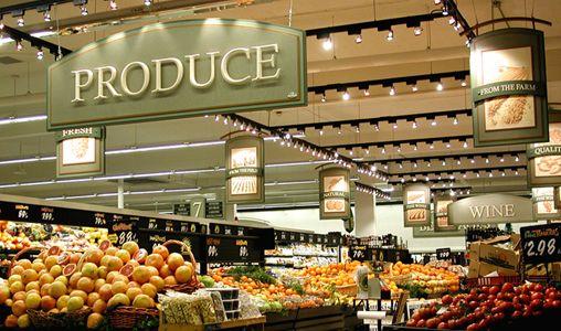 Complete Interior Amp Exterior Supermarket Amp Grocery Design