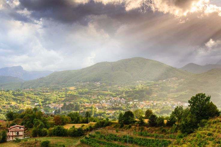 Mountains of Garfagnana Tuscany