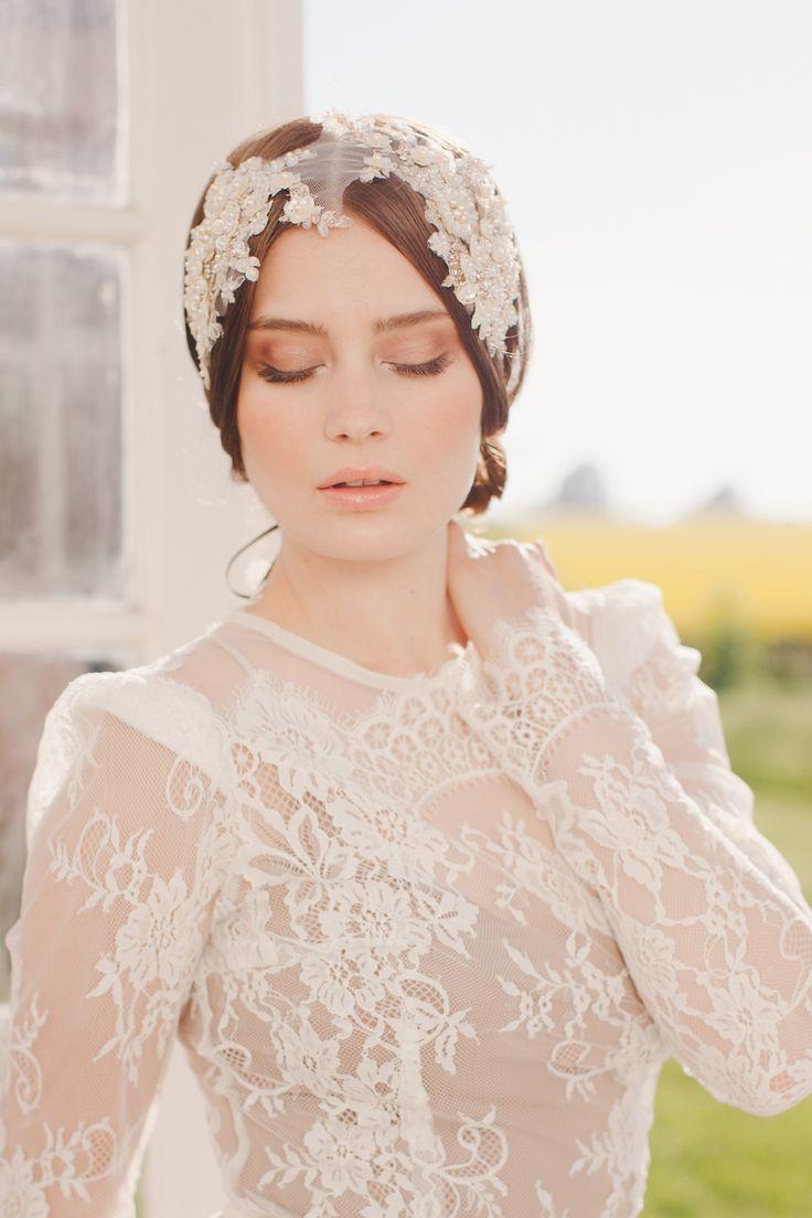 Swoon over jannie baltzer s wild nature bridal headpiece collection - Jannie Baltzer 2014 Collection Bridal Headpiece Elegant And Ethereal Headpieces Nature Inspired Headpieces Wedding Accessories