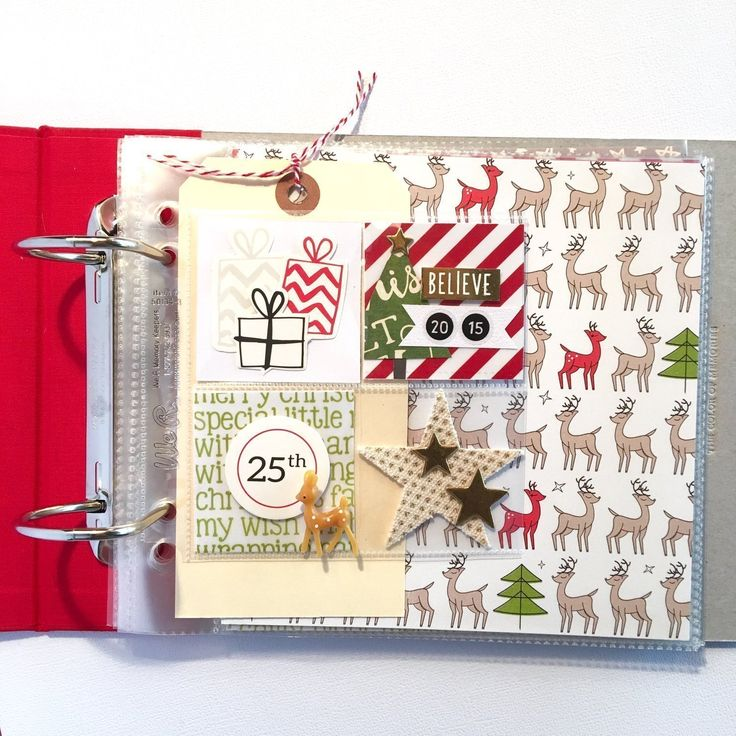 Document December Album, by Katherine Maynard using the Desktop and Christmas collections from www.cocoadaisy.com #cocoadaisy #scrapbooking #kitclub #DITL #document #December #daily #mini #album #minibook