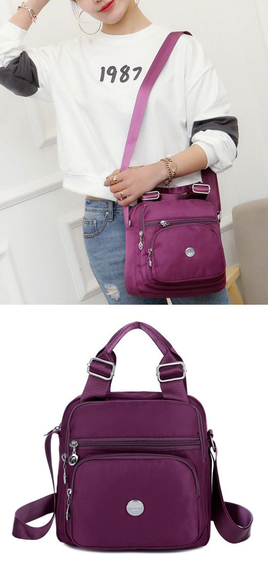 b6d505048b99 Waterproof Oxford Cloth Women Handbag Crossbody Bag Shoulder Bag in ...