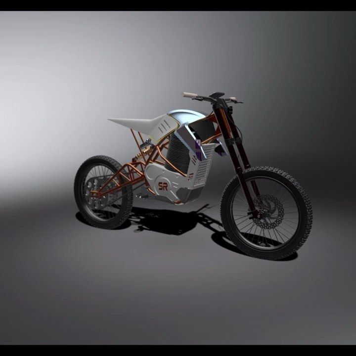 Amazing Electric Off Road Motorcycle Prototype Sr6 From Kolkata