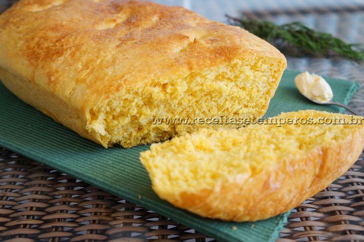 Pão de cenoura | Receitas e Temperos