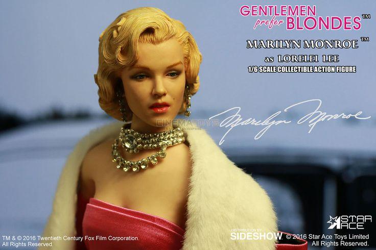 Marilyn Monroe Lorelei Lee Pink Dress Action Figure 1/6 Star Ace Sideshow Toys