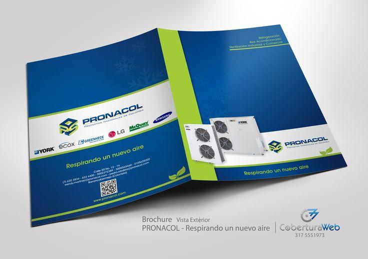 Compañía: Pronacol País: Colombia  Diseño: Brochure - Vista Interior