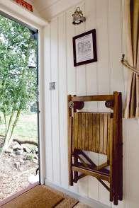 traditional style shepherd hut