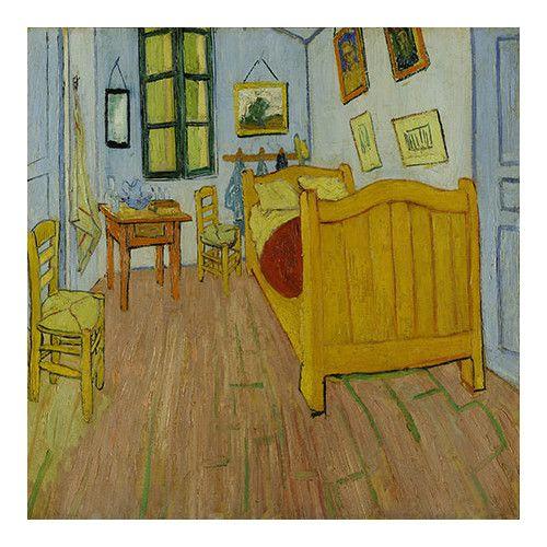 """iCanvas """"Bedroom in Arles"""" Canvas Wall Art by Vincent van Gogh"""