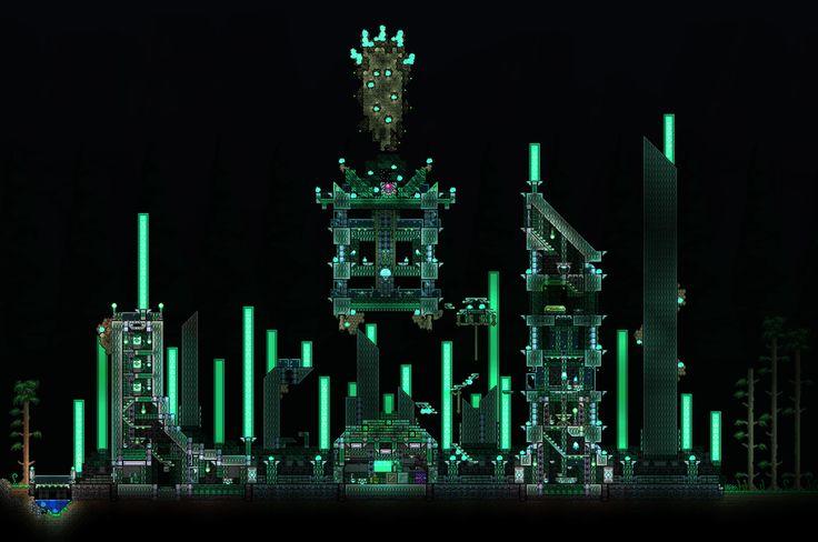 Vortex Pillar theme   Terraria & Minecraft   Pinterest