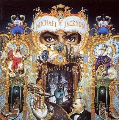 Michael Jackson album cover.