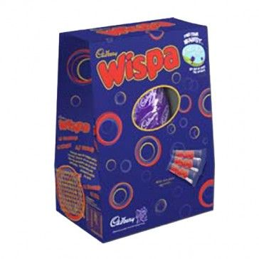 The Cadbury Wispa Easter Egg contains a smooth milk chocolate egg with three deliciously textured Wispa bars. A fantastic Easter chocolate t...