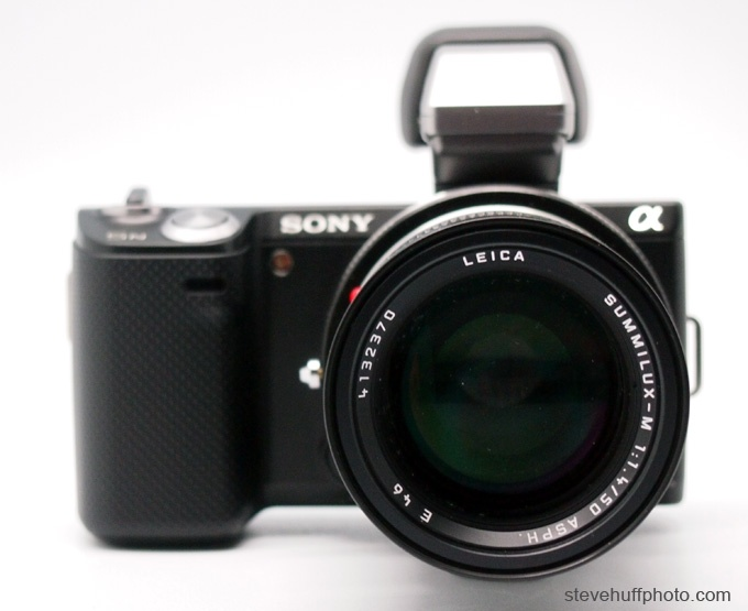 Sony NEX-5n - DSLR in a point and shoot