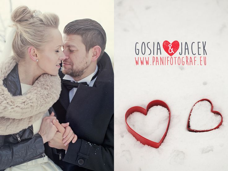 Winter wedding photo session by Panifotograf.eu http://panifotograf.eu - wedding photo shoot near Glogow #wedding #photography #poland #winter #weddings #panifotograf #fotografia #fotografiaslubna