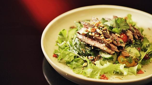 Thai Beef Salad with Vermicelli Noodles