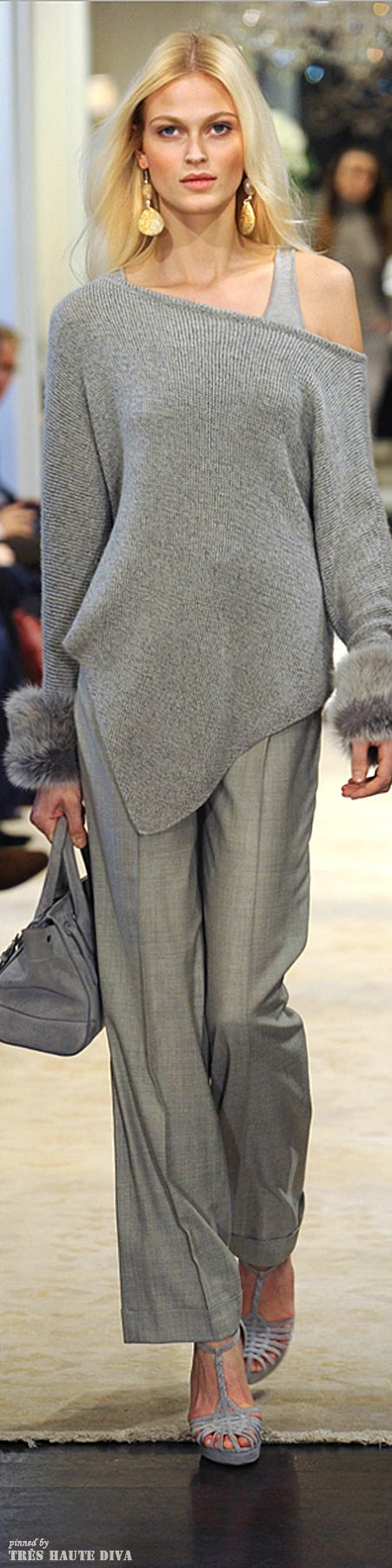 Grey on the body and grey in the house!  Greys are oneo f the must have colors of Fall 2014.