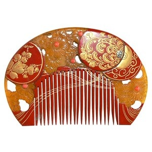 Japanese Antique Traditional Maiko Comb