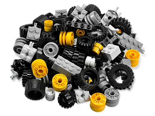 Wheels and tires for LEGO® models on the go!