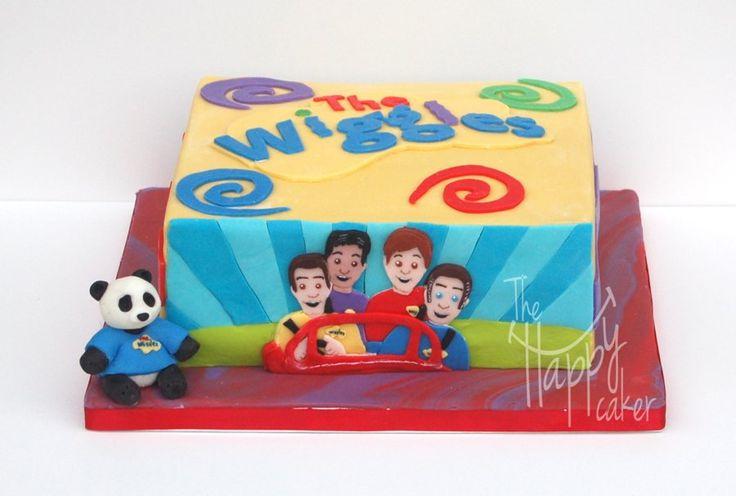 Wiggles cake - by thehappycaker @ CakesDecor.com - cake decorating website