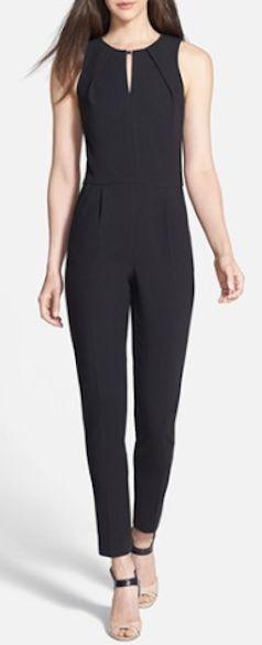 17 Best ideas about Black Jumpsuit on Pinterest | Sexy back, Black ...