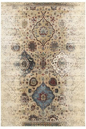 Rafia Area Rug - Traditional Rugs - Border Rugs - Machine-made Rugs - Synthetic Rugs - Rugs Made In Egypt | HomeDecorators.com