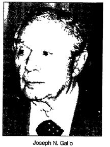 Rare one of former gambino consigliere joe N Gallo , been reading some FBI files on Gallo it's Interesting that an informant ( probably carmine lombardozzi ) claims Joe N. Gallo sponsored John Gotti into the gambino family. I always figured it was Carmine Fatico or Neil Dellacroce.