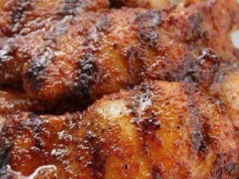Grilled Spicy Honey Chicken