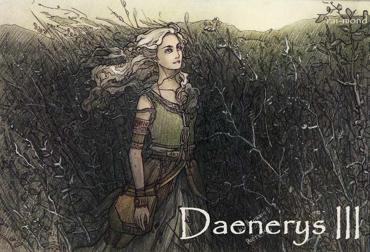 AGoT Daenerys III banner - Daenerys in the Dothraki Sea by rai-mond