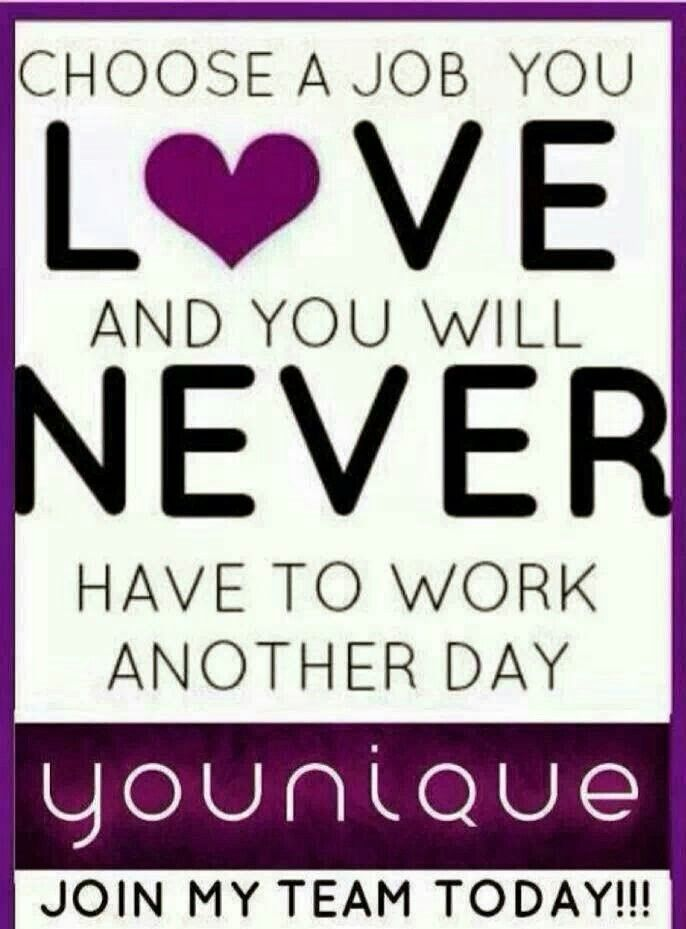 It's true!  Love what you do <3 https://www.youniqueproducts.com/Aniquepatrick