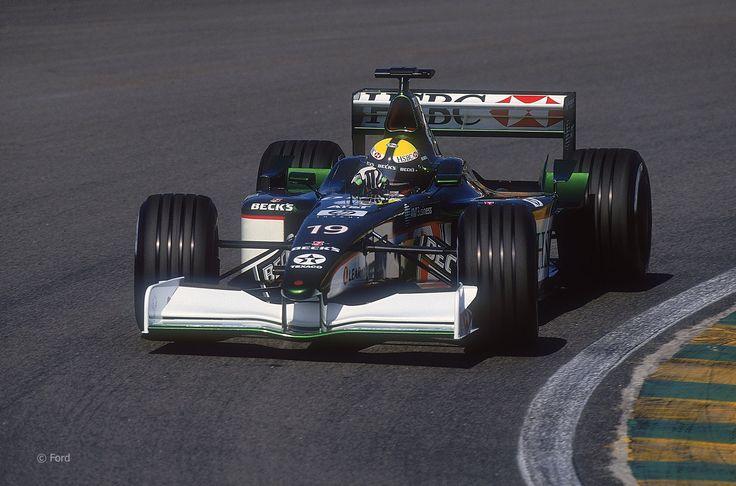 Luciano Burti. Jaguar. Interlagos, 2001