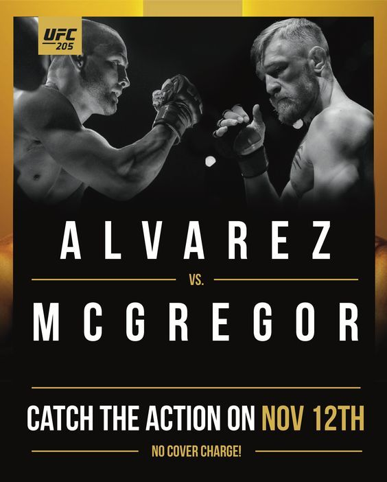 UFC 205 At ALL JRG Public Houses