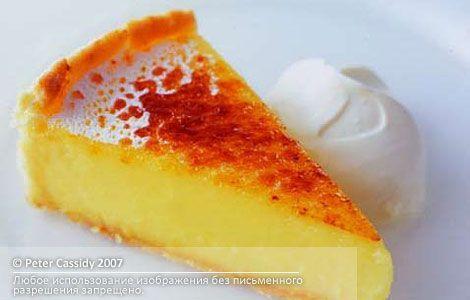 Классический лимонный пирог