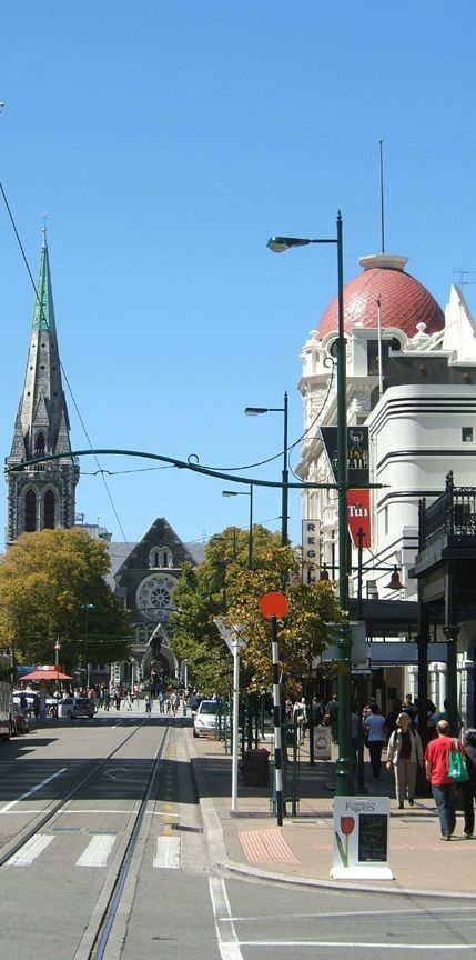 Christchurch - NZ - what my hometown used to look like