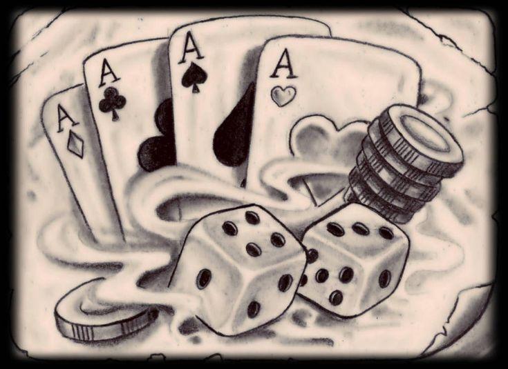 Картинки карты игральные кости