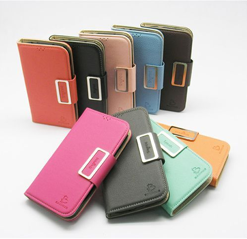 LG Vu 3 Baumus Leather Diary Wallet Case