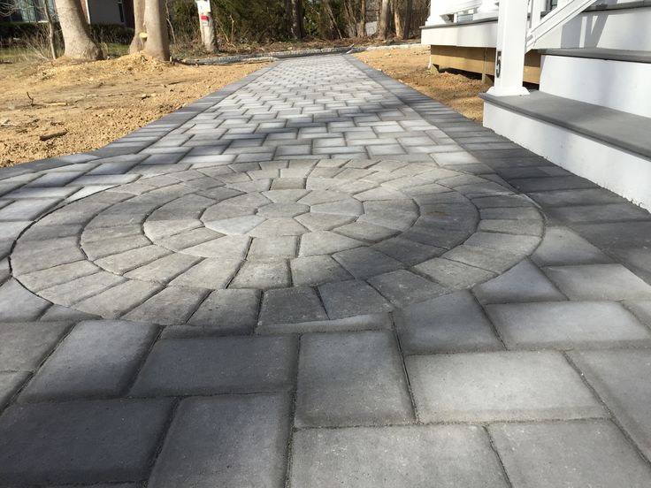 Cambridge Paver Walkway, Classic 6x9 onyx/natural ...