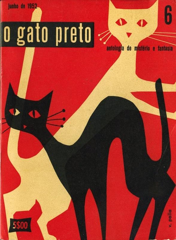 o gato preto cover by Victor Palla 1952
