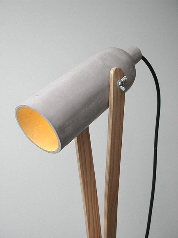 concrete light?!?! YES, PLEASE