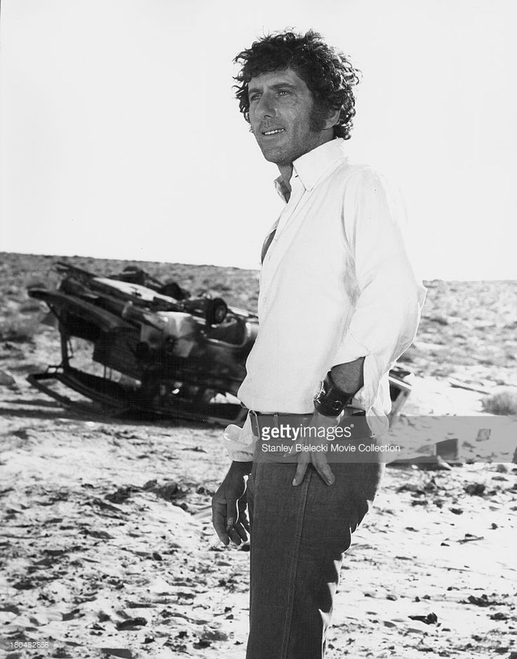 "Beautiful rare pic of actor Barry Newman. :) Most likely taken on the set of ""Vanishing Point""."
