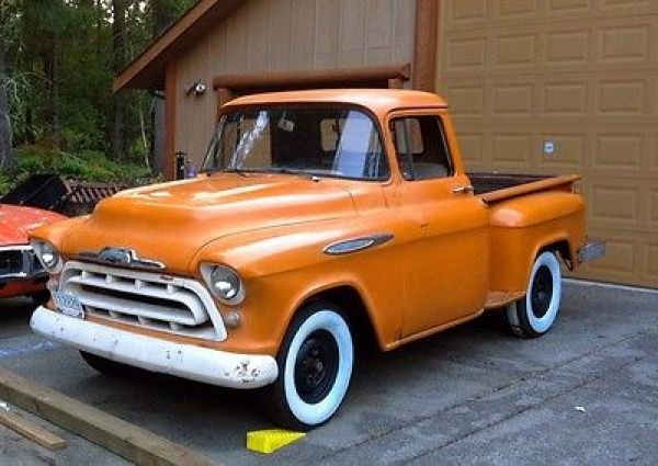 1957 Chevy Apache Short Bed Pick-Up                                                                                                                                                                                 More