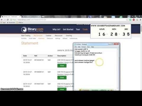 Trik Binary DM Random YANG Jaring 5 Tab ~ Gratis Panduan Sukses Trading Binary.com