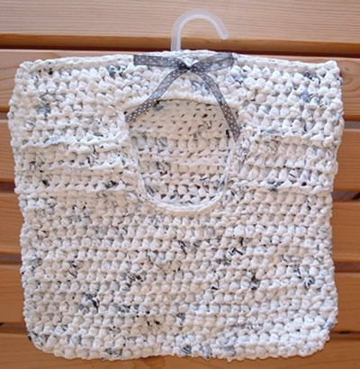 Knitting Pattern For A Peg Bag : 11 Best images about plastic knitting and crochet on ...
