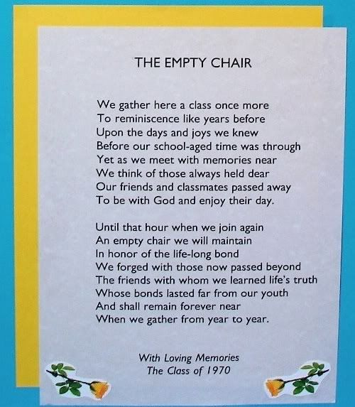 essay 2 the empty chair