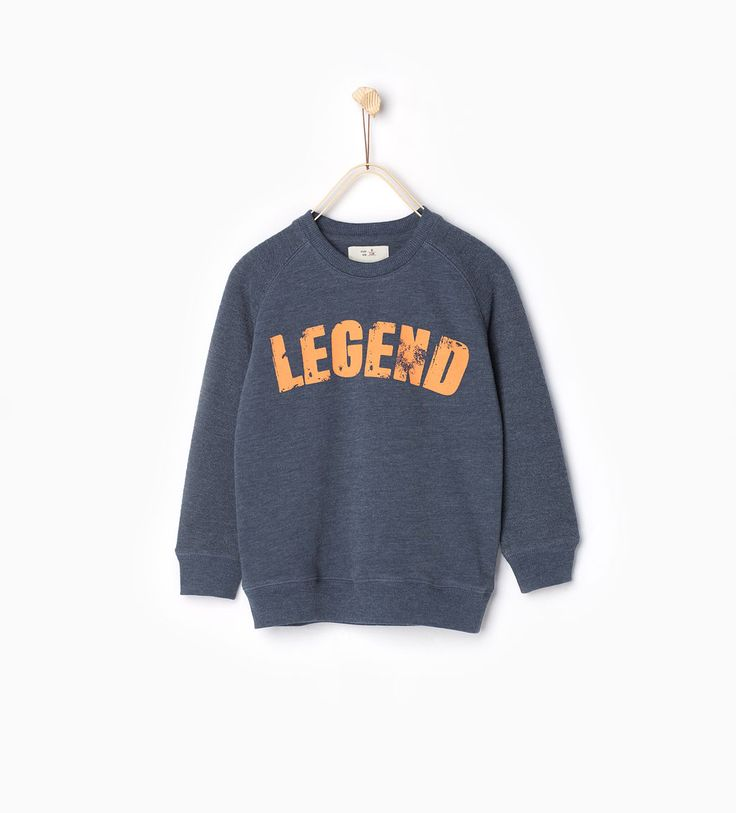 ZARA - COLLECTIE SS16 - Sweatshirt Legend