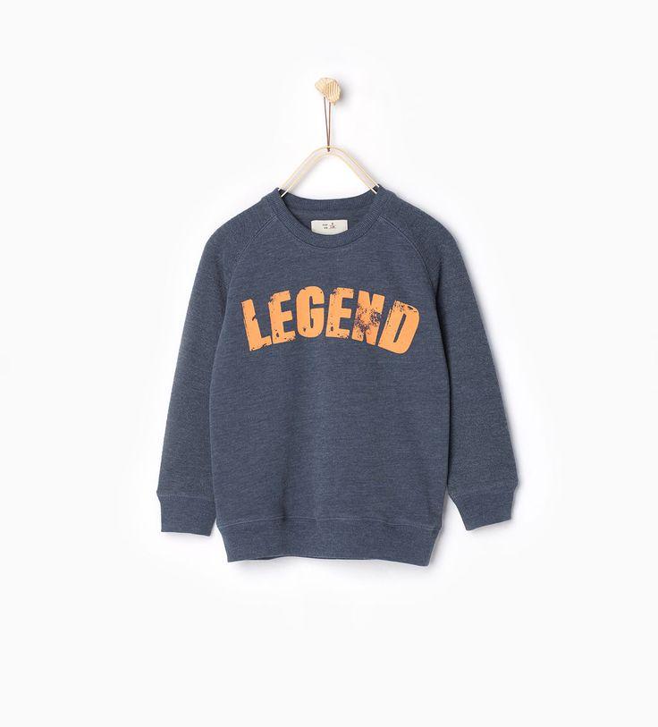 ZARA - COLLECTIE SS16 - Sweatshirt Legend