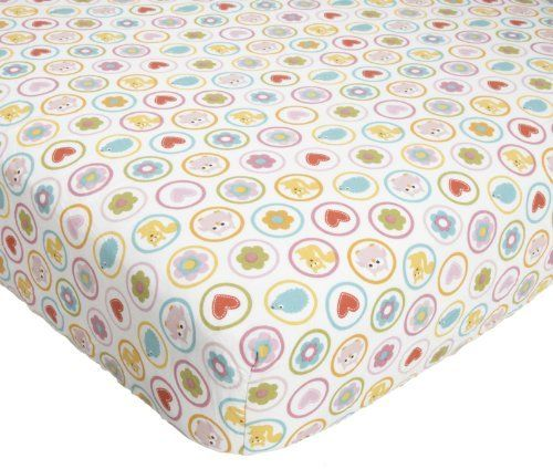 Kids Line Dena Happi Tree Crib Fitted Sheet, Pink by Kids Line, http://www.amazon.com/dp/B004P1IVYM/ref=cm_sw_r_pi_dp_RegKqb1EXQE5H
