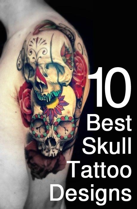 best skull tattoo designs our top 10 skulls skull tattoo design and tattoo designs. Black Bedroom Furniture Sets. Home Design Ideas