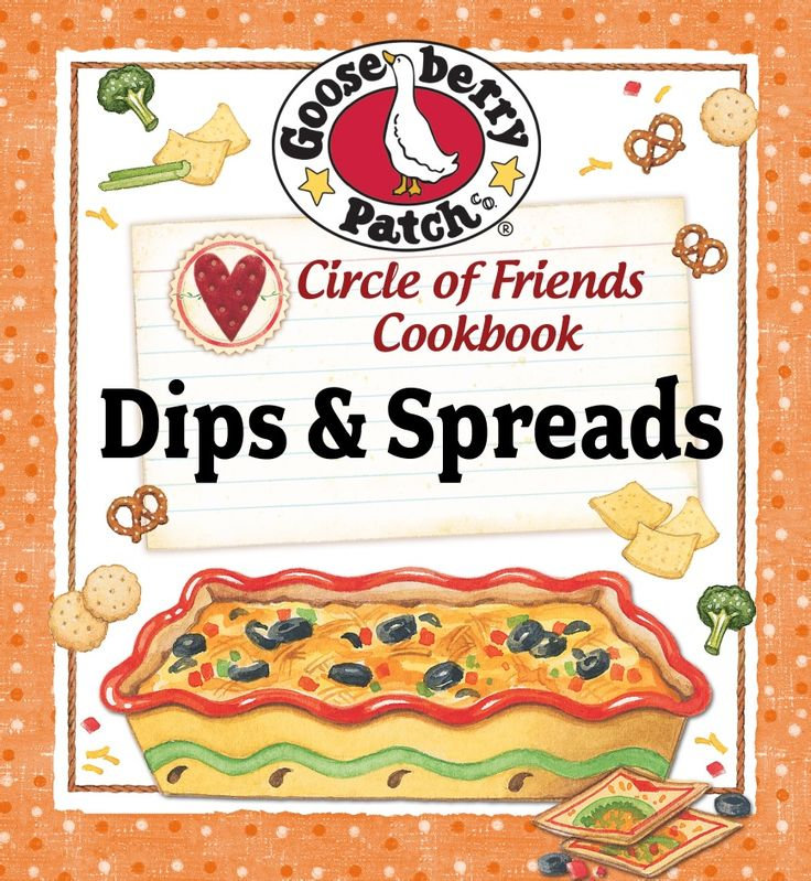 Download 25 FREE recipes for Dips & Spreads!: 25 Dips, Spreads Recipe, Dips Recipe, Free Prints, Get Fit, Great Book, Circles Of Friends, Gooseberry Patches, Recipe Book