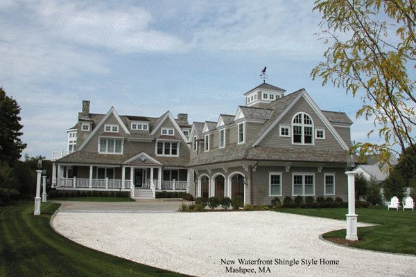 Awesome Nantucket Style Home Plans #5 Nantucket Style Homes Architecture |  Mail Level Ideas | Pinterest | Best Nantucket Style And Design Firms Ideas