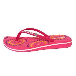 Chanclas niñas Joma Ibiza rosa y blanca