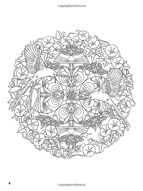 Amazon.com: Nature Mandalas Coloring Book (Dover Coloring Books) (9780486476520): Marty Noble, Coloring Books: Books