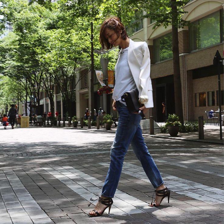 いいね!4,779件、コメント49件 ― TOMIOKA YOSHIKO OFFICIALさん(@yoshikotomioka)のInstagramアカウント: 「#outfit  #denim#nogender」